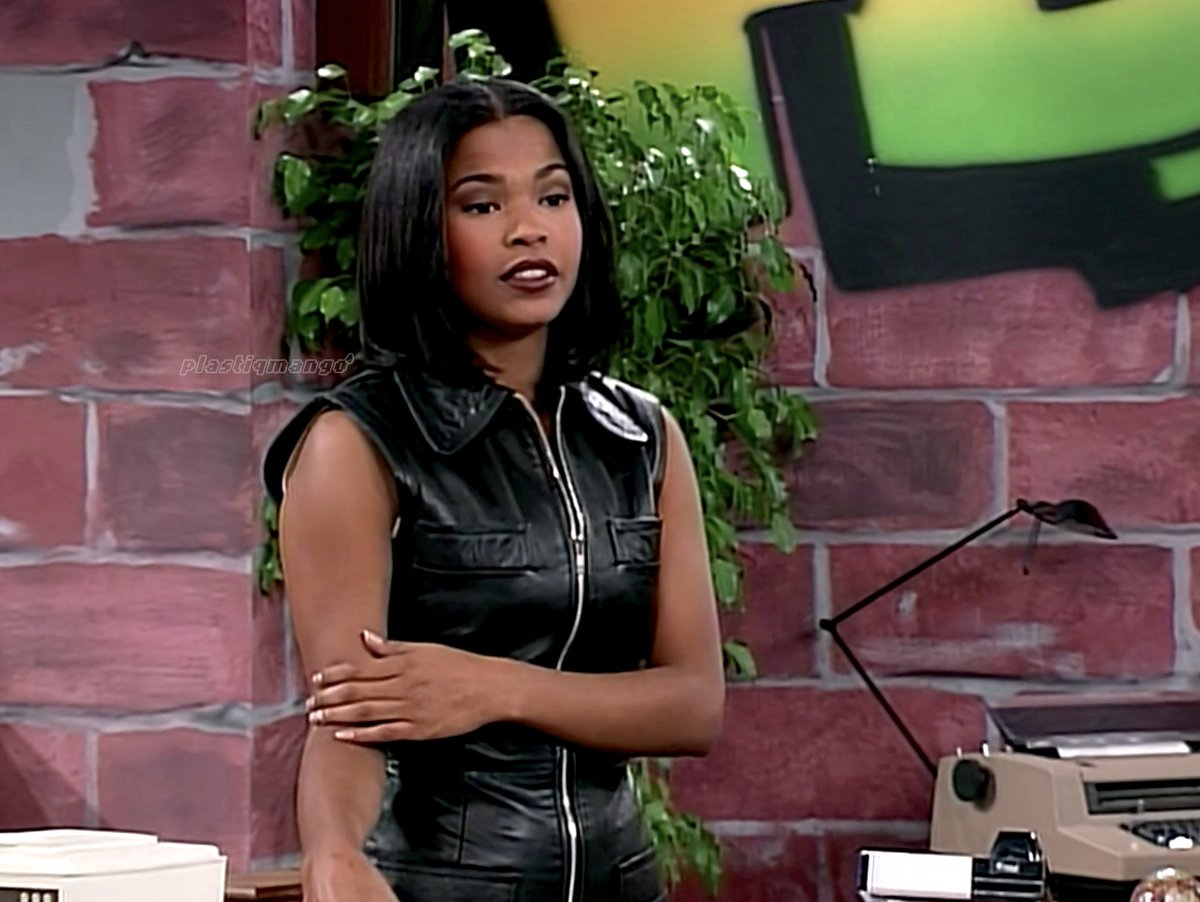 Nia Long on Living Single