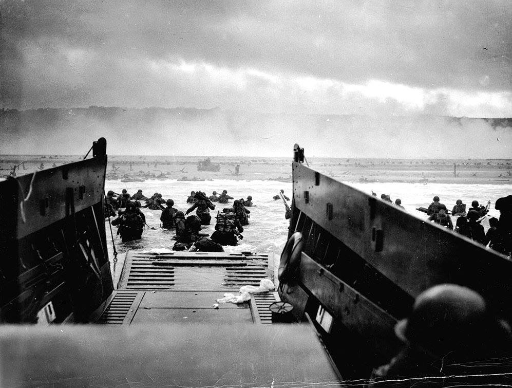 76 years ago today, D-Day, the beaches were stormed as the invasion of Normandy began. #DDay