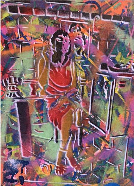 """La Galerie Artelie vous presente deux œuvres d'EPSYLON POINT, un artiste précurseur de l'art urbain en France  - """"Ex femme Epsy"""" 46 x 30 cm  - """"Musicien"""" 46,5 x 37,5 cm  #galerie #paris #rivedroite #art #paris8 #artcontemporain #arturbain #streetart #epsylonpoint #peinturepic.twitter.com/78yb5GoJwi"""