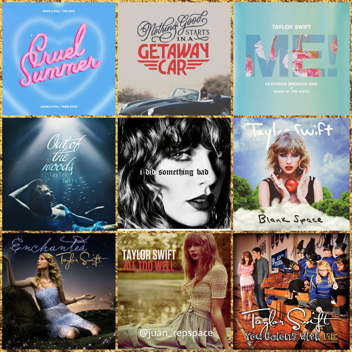 These 9 Taylor Swift songs are all burning, Which 3 are you saving?  pic.twitter.com/M04X1Dzhh2