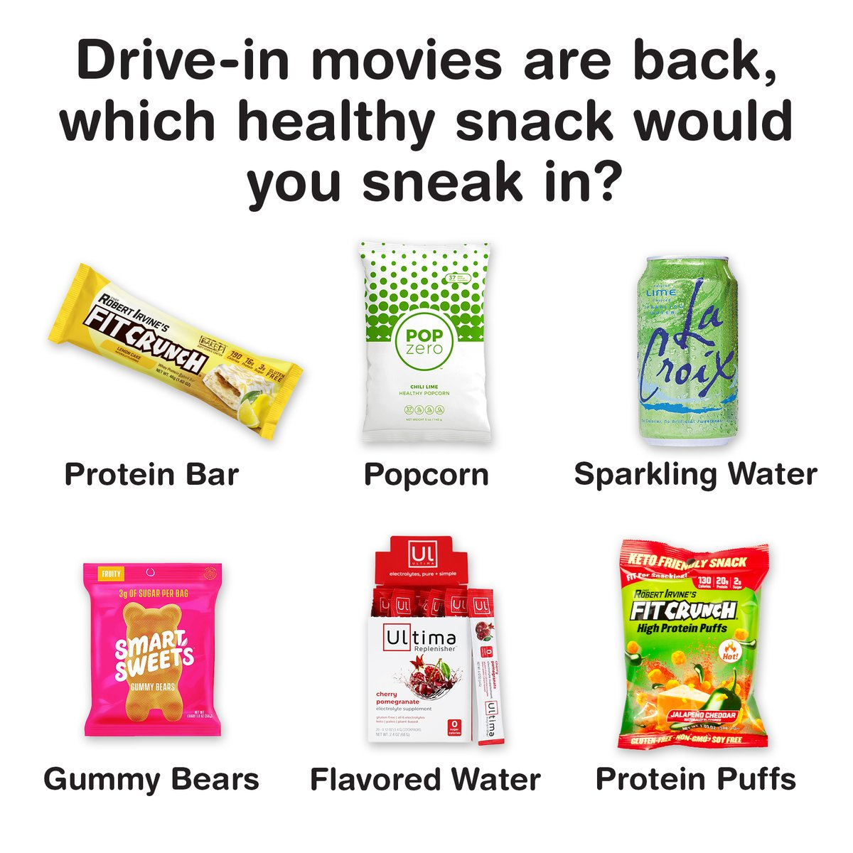Drive-in movies mean more room to pack your snacks . . #fitcrunch #driveinmovie #trends #fitness #movies #family #friends #snacks #fitforsnacking #fitcrunchbars #snacktime #moviesnacks #togetherwecan #quarantinesummerpic.twitter.com/h9cq02SsxH
