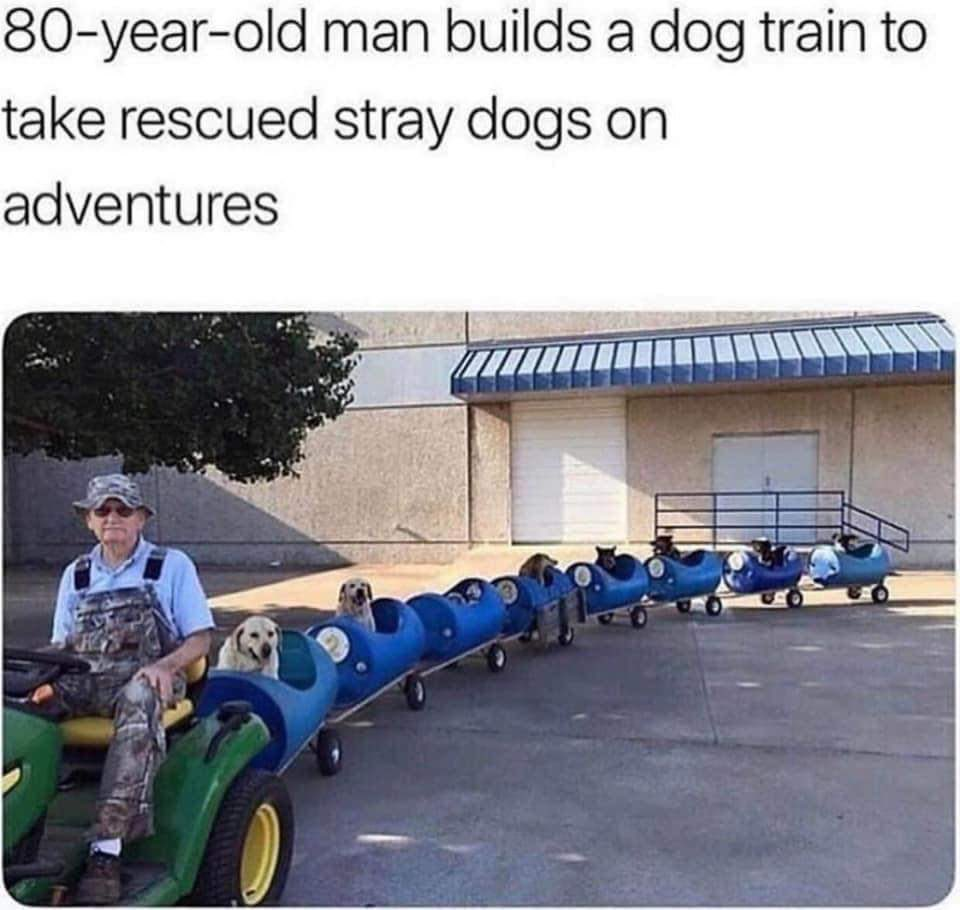 Happiest train on earth