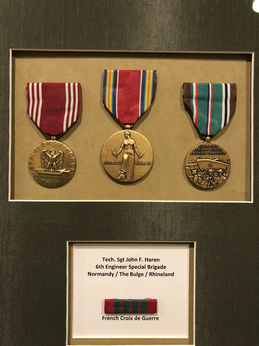 What a bad ass my grandpa was. #DDay