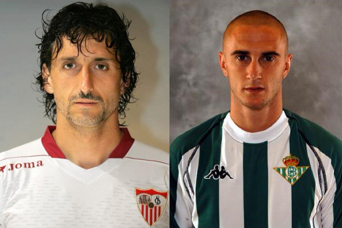 Analizamos el derbi sevillano con dos ex jugadores que han defendido las camisetas de ambos equipos: @PabloAlfaro, entrenador del @ibizaud, y Dani Martin Alexandre, de la escuela de fútbol @Triana_Ar_Rabad.  ➡🔊https://t.co/xpO2jlEnfS  @CanalSurRadio  @canalsur  @csurDeportes https://t.co/h0XaUoQvbS