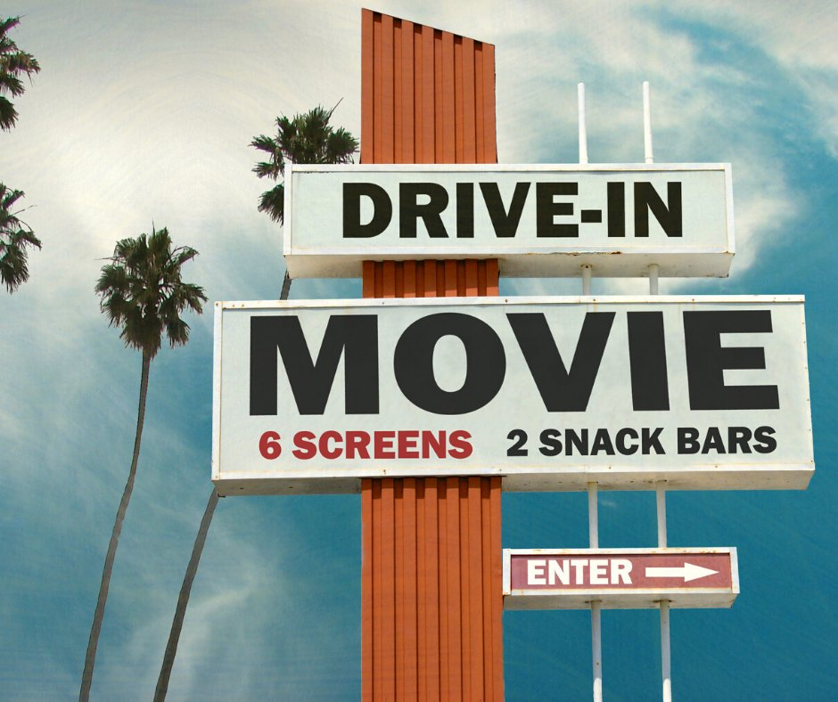 Today is Drive-In Movie Day! The first five in movie theatre was opened in 1933 in New Jersey. Today would be a great day to go see a drive-in movie or set one up in your backyard. #driveinmovieday #driveinmovie #rotarypic.twitter.com/bIcZzDWLuo