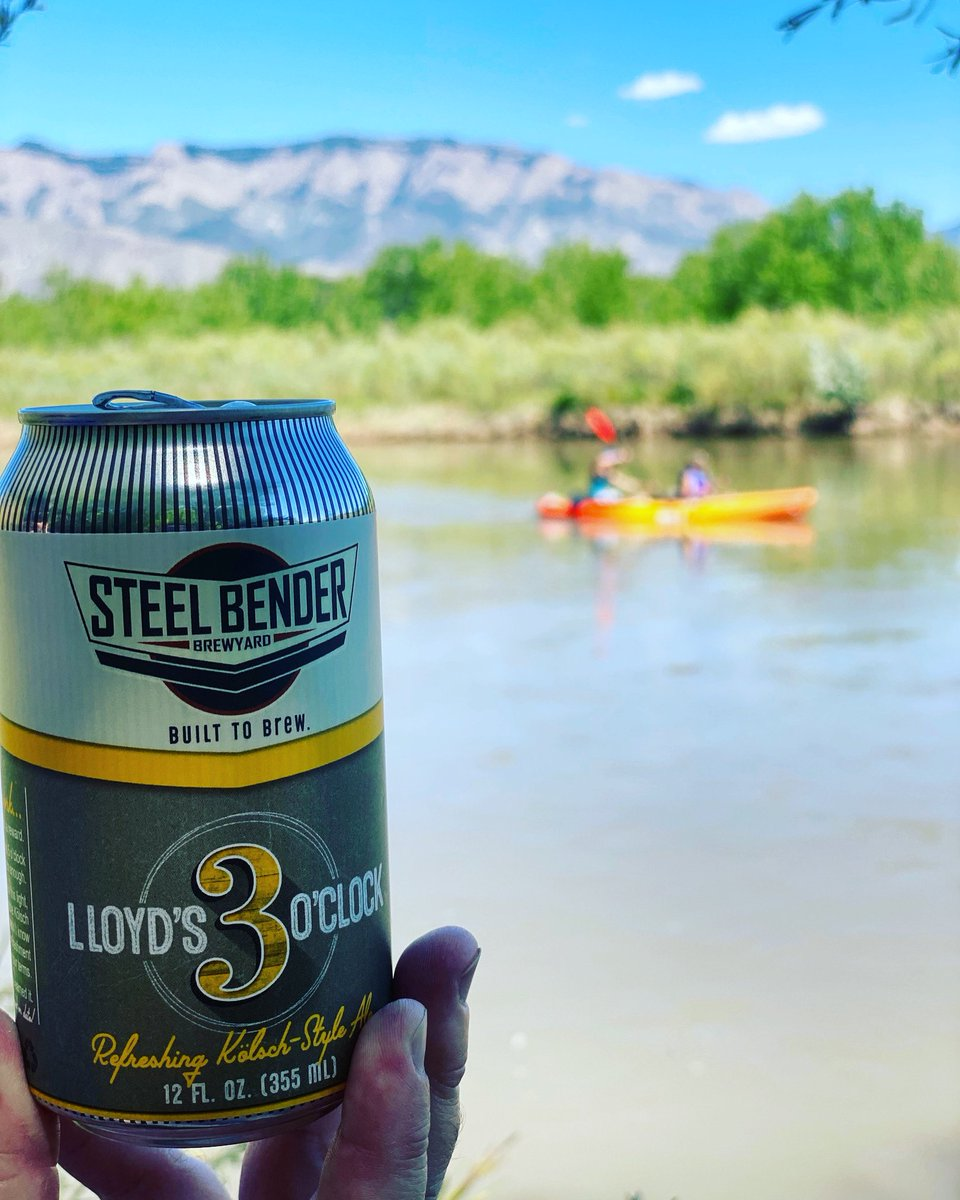 Where are you enjoying your 3 O'clock? ⠀ ⠀ #Lloyds3OClockKolsch #daydrinking #strongerthansteel #builttobrew #supportlocal #staystrongNM  #NMBeerLove  #supportyourlocalbrewer⠀ #NMCraftBeer #albuquerque #craftbeer #newmexico #losranchosbrew #NewMexicoBeer #NMbeer https://t.co/sCFhGRiX8B
