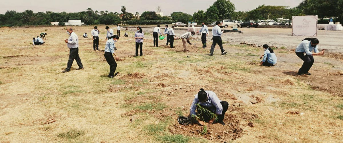 This #WorldEnvironmentDay, AM/NS India employees acted #ForNature by participating in a tree plantation drive to promote #biodiversity around our sites and celebrate in a safe manner. @UNEP @UNBiodiversity  #WorldEnvironmentDay2020 #SmarterSteelBetterWorld https://t.co/gkQaTja4Ch
