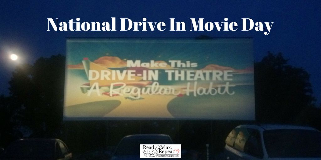 Today is National Drive In Movie Day. Have you ever been to a drive in movie? Do you still have one where you live? #driveinmovie pic.twitter.com/F4zg8zdQgp
