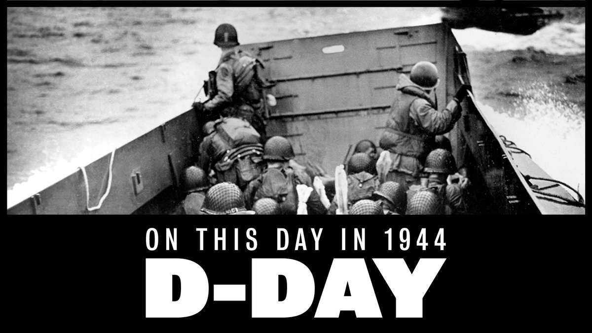 Today, this longest day marked the beginning of the end of WWII #NeverForget #DDay76