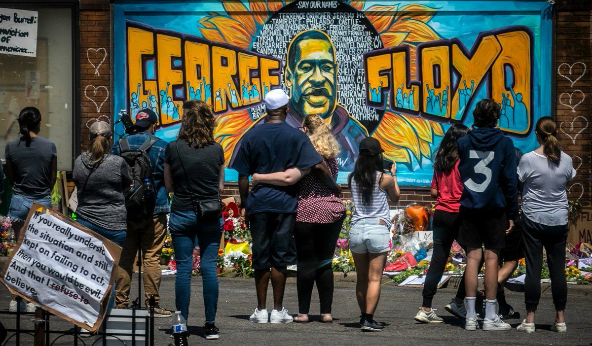 In #France 🇫🇷 #Europe 🇪🇺 #NewZealand #Canada #Australia… Thousands took to the streets to condemn #racism in solidarity with the #BlackLivesMatter movement #GeorgeFloyd's death ignited a worldwide call for #equality & #justice #JusticePourAdama #JusticeForGeorgeFloyd 📷 @AP