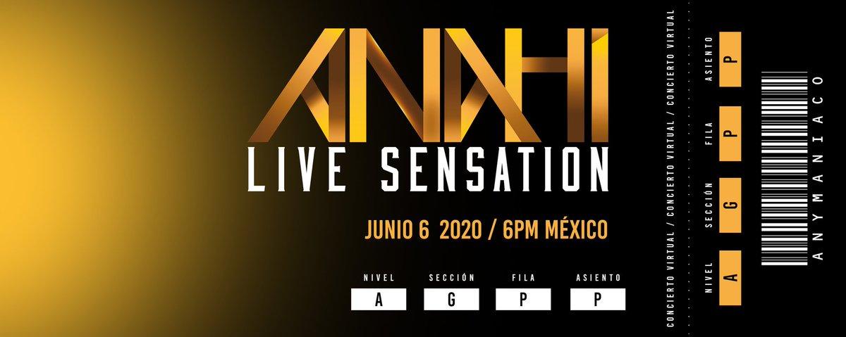 Llegó el gran día #AnahiLiveSensation By @BoyOfAnahi ❤️🎙️🎶 México está listo cc. @Anahi https://t.co/JZPfHpqzjz