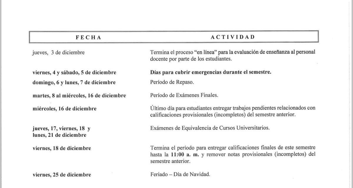 btc calendario accademico