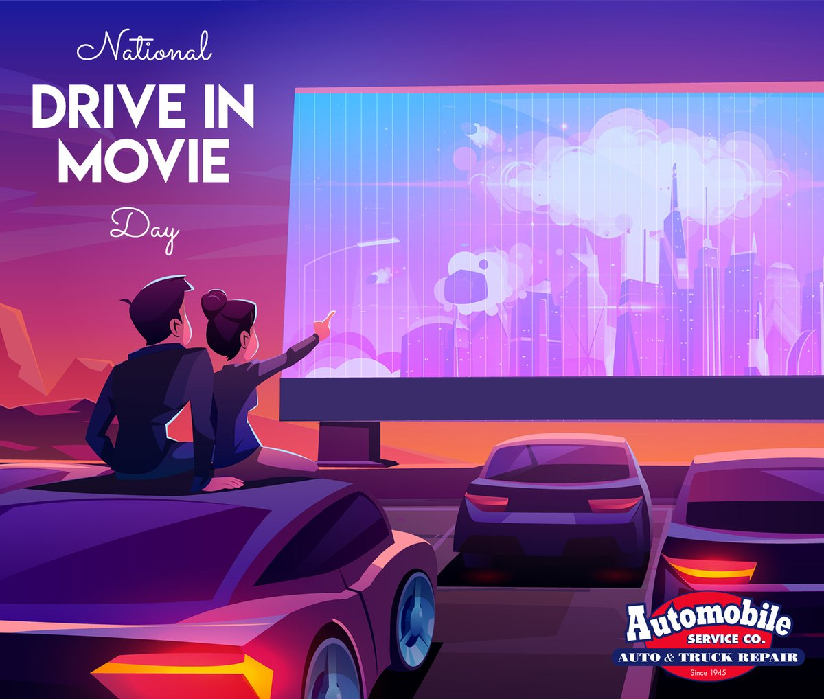 If you have one open near you, today's the day to go! #Movie #DriveInMovie #NationalDriveInMovieDay #DriveInMovieDaypic.twitter.com/P00Y2pxCab