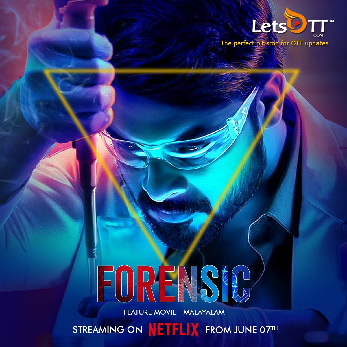 Letsott Global On Twitter Streaming Alert Malayalam Thriller Forensic 2020 Now Streaming On Netflix Https T Co Rb1cw3bwv4