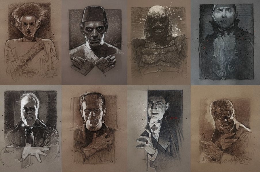 Who is your favorite @UniversalPics Monster?  #UniversalMonsters #Art pic.twitter.com/urGFfikdV1