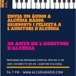 Image for the Tweet beginning: Alcúdia Ràdio prepara la programació