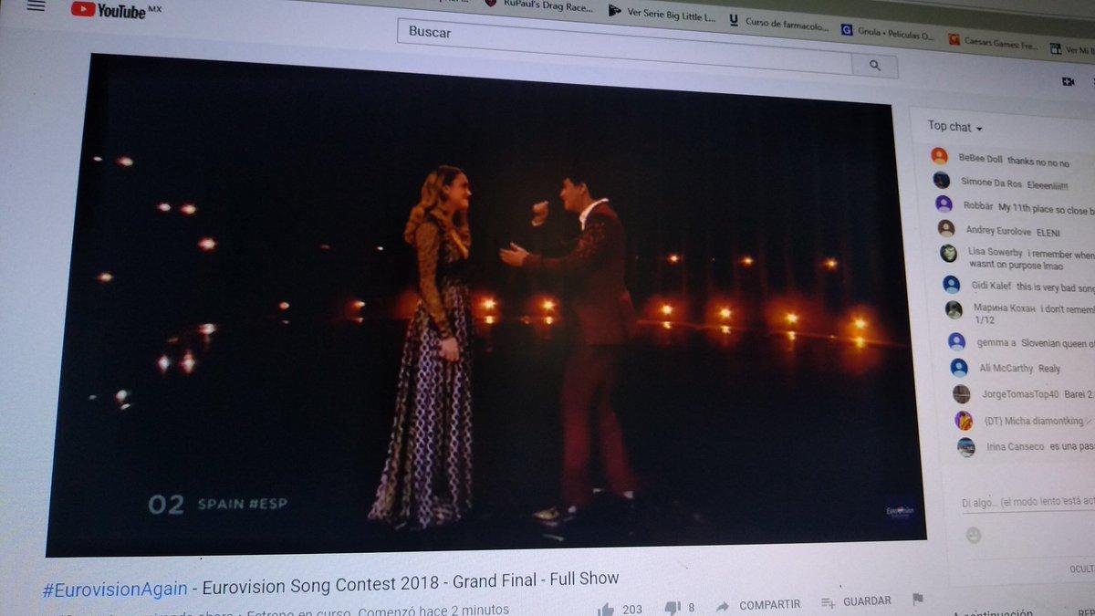 De mi mente viajera que sigue tus pies ♥️ #eurovisiónrtve #Eurovision #EurovisionAgain #Spain #Eurovision2018 https://t.co/aQd5N6tMOQ
