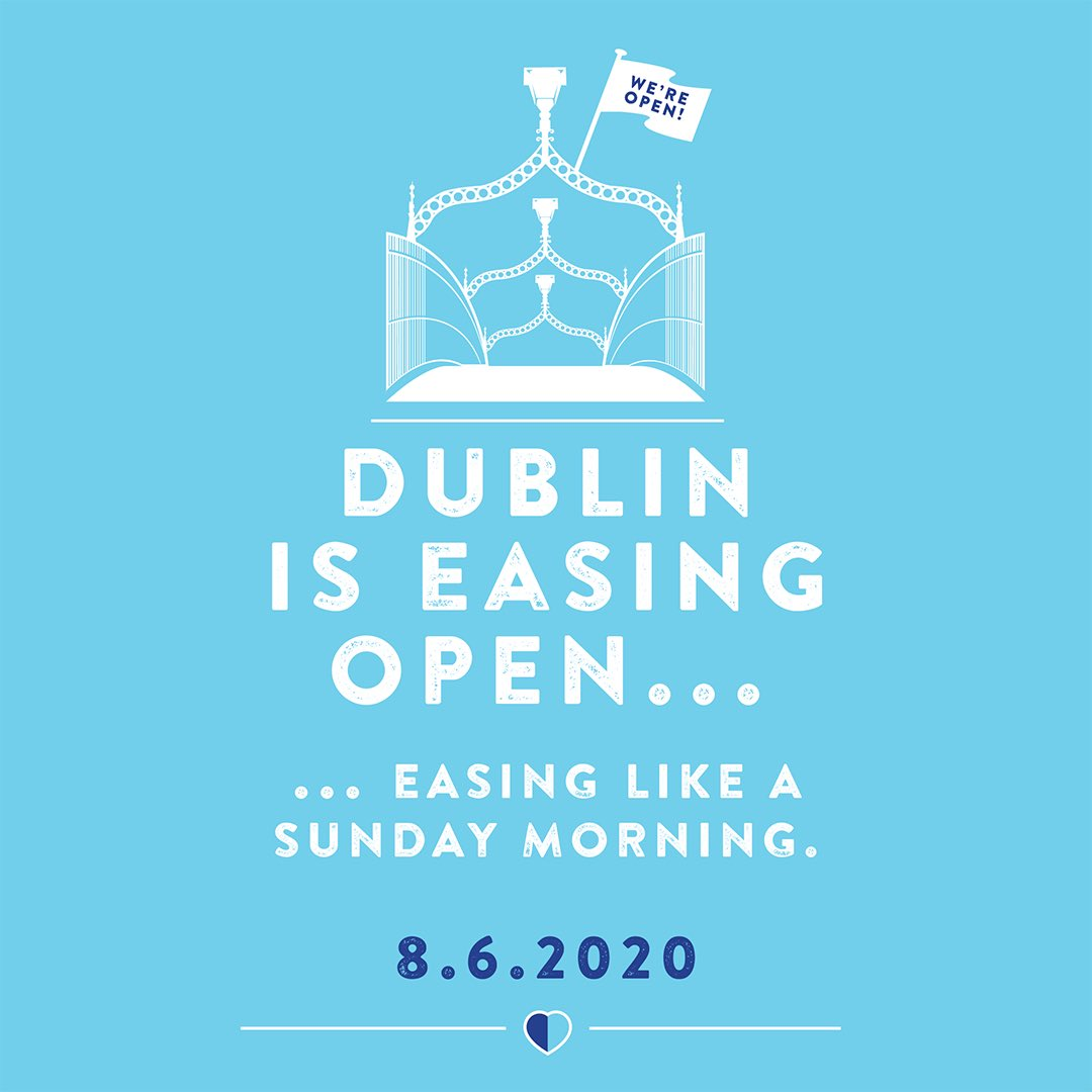 We are so proud to be working with @DublinTown @DubCityCouncil An Garda Síochána, @TFIupdates on the re-opening of our lovely city! Our team has worked so hard to design a creative ad campaign, mixed with a strong media relations and comms strategy💙 #EasingLikeASundayMorning https://t.co/V99cyHFdd4