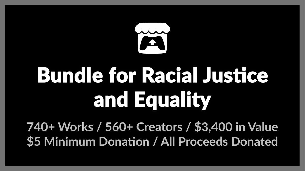 You can buy 742 games with a minimum $5 donation supporting racial justice and equality.  $3,400 worth of games.  https://t.co/FkVighjXgP https://t.co/NOgFEVNftL