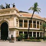 Image for the Tweet beginning: #7giugno 1874– Inaugurazione delTeatro PoliteamadiPalermoconI