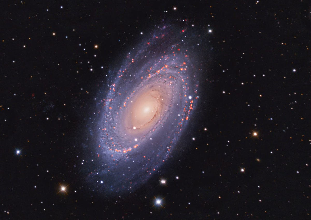 Another #Astrophoto. M81, also known as Bode's Galaxy.  #Astrophotography #Nightsky #M81 #BodeGalaxy  https://www.mihaighita.com/2020/06/m81-bode-galaxy/…pic.twitter.com/fWpuKcPKxO