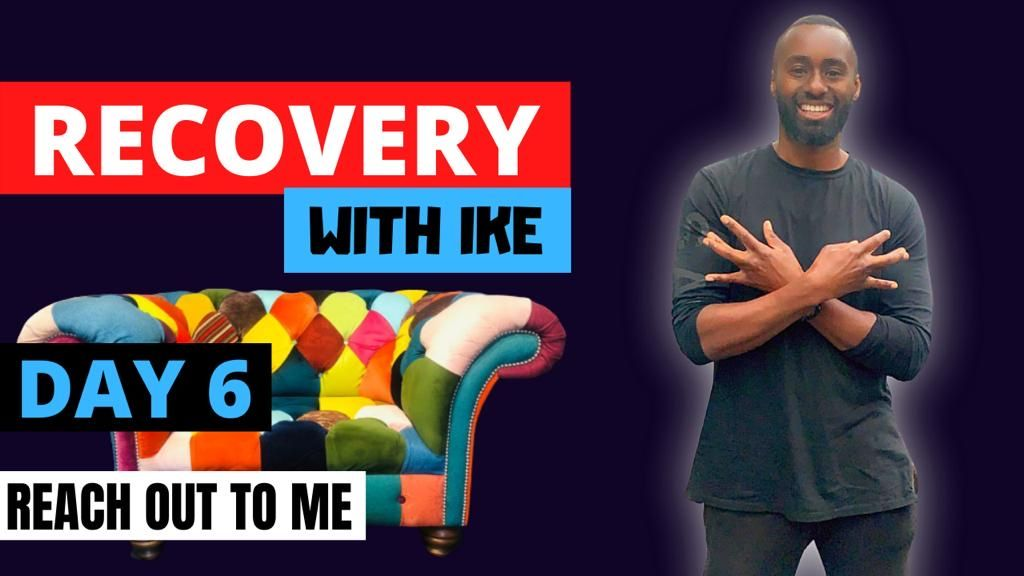 Day 6 - Reach Out To Me  #RecoveryWithIke #ChildOfGod #ChildOfGodTeam #Recovery #Drugs #Alcohol #Sugar #Inspiration #Inspire #ThankYou #Blessed #GodBless #Beastmode #Addiction #Life #MyStory #MyJourney #Support #Donate #MasksForAfrica #MasksForNHS  https://t.co/nuB7rKAXIn https://t.co/HBnzTFZR2P