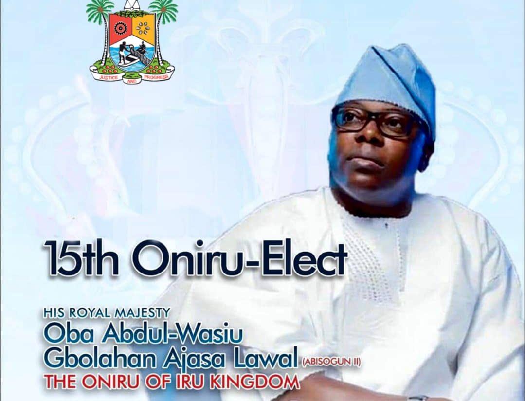 "OakStone Media on Twitter: ""The 15th Oniru-Elect, Oba Gbolahan ..."
