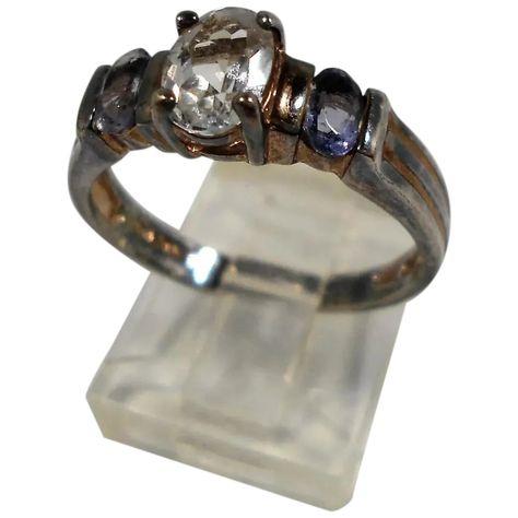 Sterling Silver Oval Clear Purple Faceted Gemstones Ring Size 8 #vintage #rubylane #sterlingsilver  #ring #jewelry https://www.rubylane.com/item/136230-E113391/Sterling-Silver-Oval-Clear-Purple-Faceted?search=1…pic.twitter.com/FgyJZmxUK7