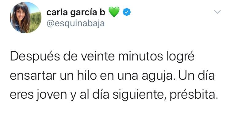 Tiembla, Carlita García. Pronto aprenderás lo que significa trabajar.  Ojalá no te toque trabajar de hilandera. https://t.co/IcNqrqPzrE https://t.co/DNIWuitZcJ