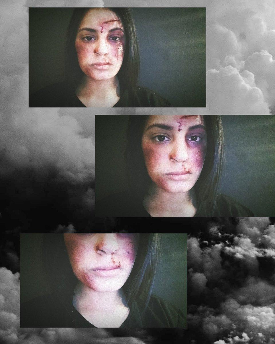 New Makeup  Fake Blood & Fake Makeup  #Retweet #share #Like  شجعوني pic.twitter.com/X5KHoOfKmB