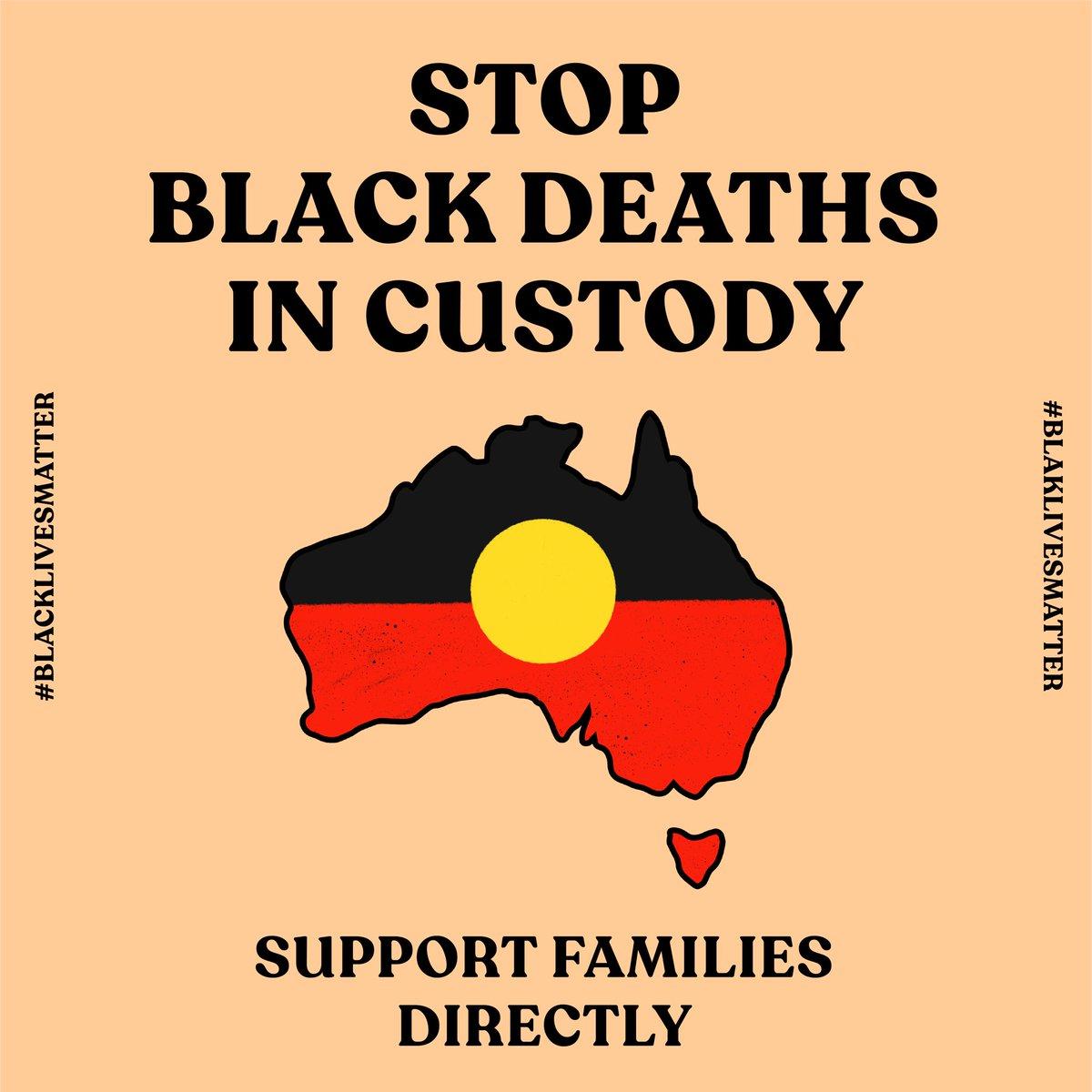 Stop Black Deaths in custody. Support families directly:  Justice for Joyce Clarke: https://t.co/SB81MiqtDu Justice for Walker: https://t.co/rJfiXLIRX4 Justice for Tanya Day: https://t.co/YRHD98ykOA Justice For David Dungay Junior: https://t.co/0jB2CYyMT1  #blaklivesmatter https://t.co/66nI7jn5Kd