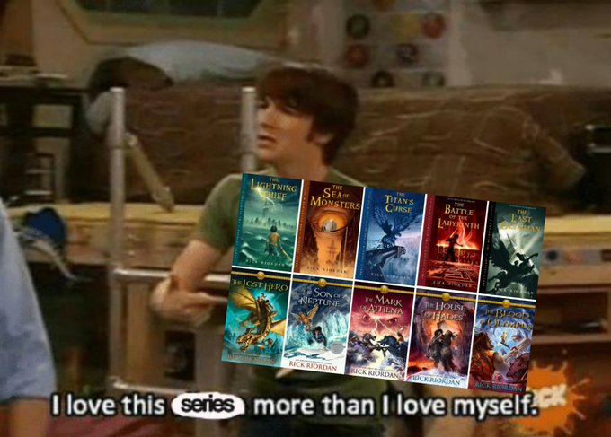 @ReubenForan2016's photo on Rick Riordan