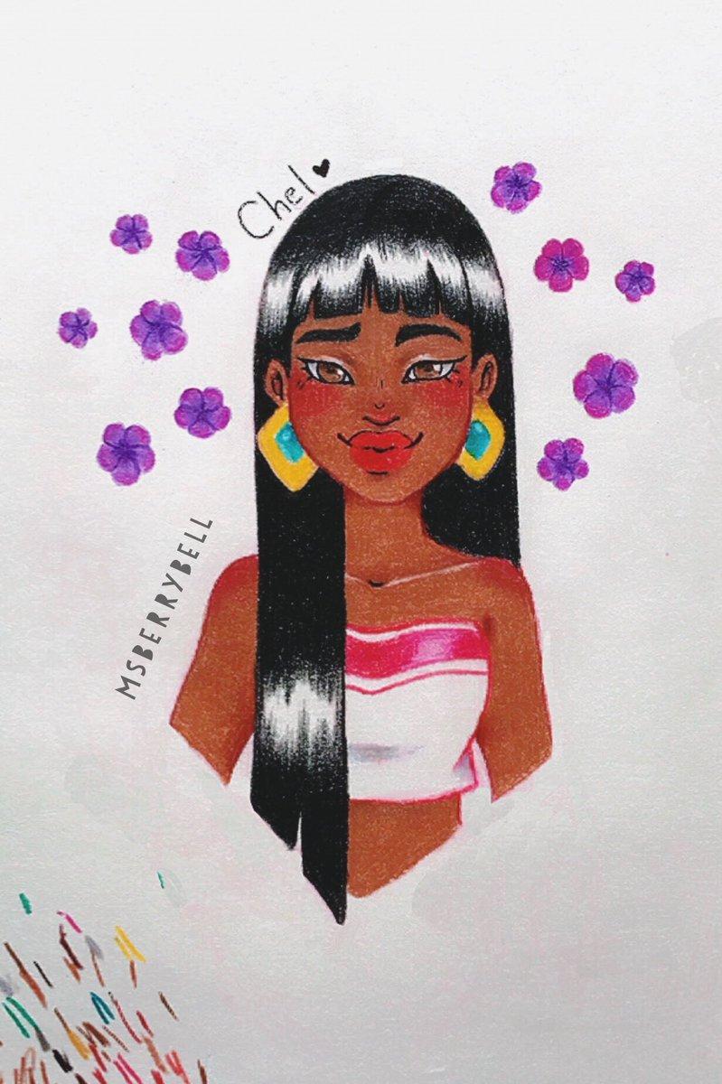 Had such bad art block, but Chel saved the day #twitterart #ArtistOnTwitter #artistoninstagram #drawing #prismacolor #chel #myart #artist #FYP #sketch #sketchbook #traditionalartpic.twitter.com/3MKpc56hIY