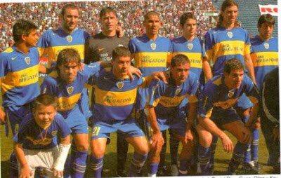 Andrada; Ibarra Schiavi Alonso Fabra; Battaglia Gago Insúa; Salvio Delgado Palermo