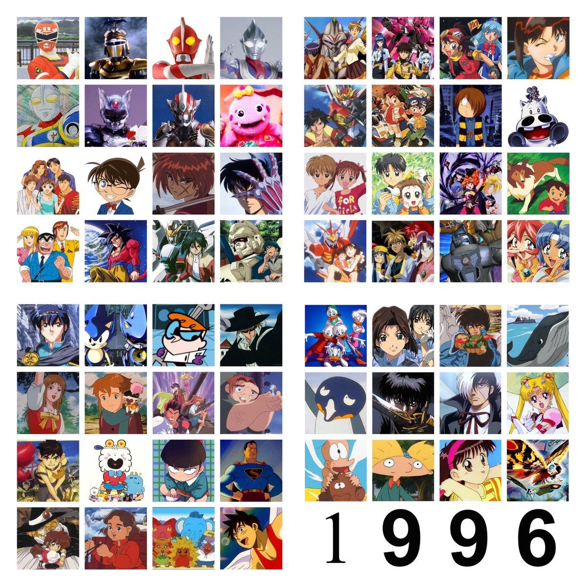 """スシツネ в Twitter: """"1996年やっっっば!! #1996年アニメ #1996年 ..."""