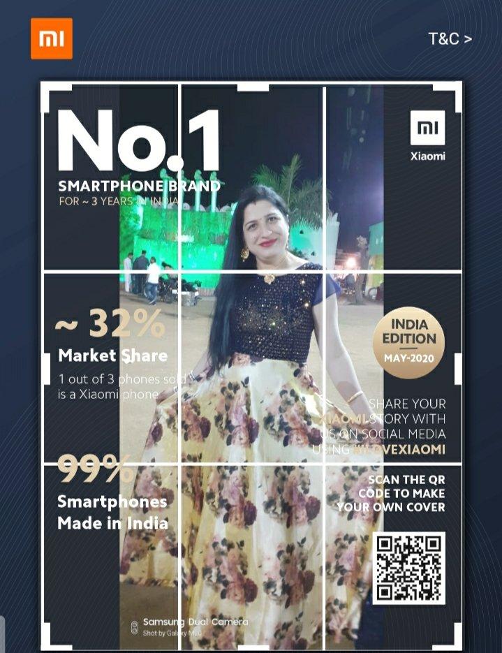 #MagazineCoverChallenge  #1BrandXiaomi #ILoveXiaomi   @XiaomiIndia  My magazine cover challenge Tag  @Dheeraj13244806  @chidambar08  @Dev7Vatsa  @mkrana4580  @friends4_evepic.twitter.com/ySNMlCSSbX