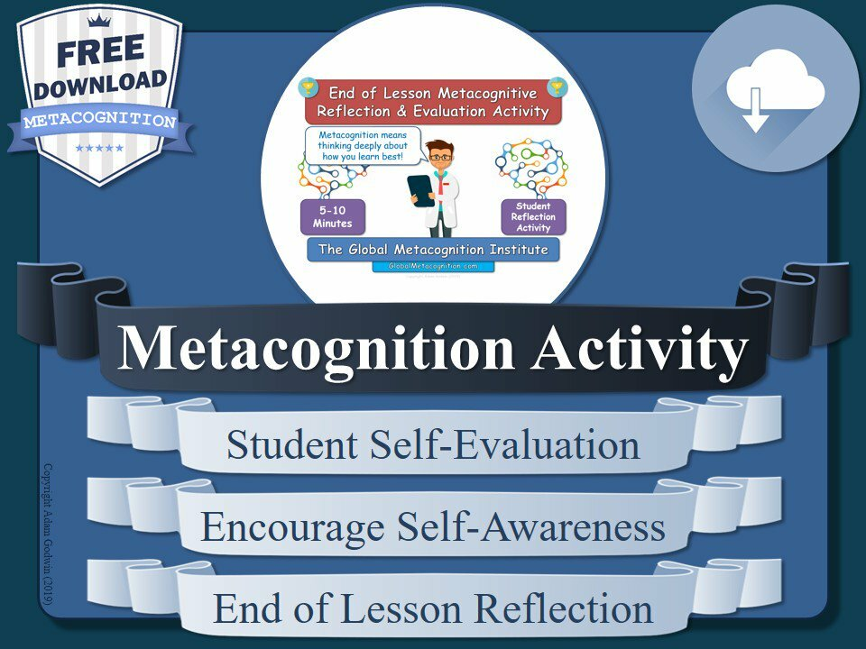 A free resource for your lessons tomorrow! Great end-of-lesson task for #metacognition & #metacognitive awareness! https://t.co/1ro7ZLdNCh #schools #PBL #STEM #ece #P4C #edtech #slt #sltchat #tes #pedagogy #free #teach #teaching #teachers #printables #k12 #ks3 #ks4 #pgce #cpd https://t.co/9iMBpjKqFU