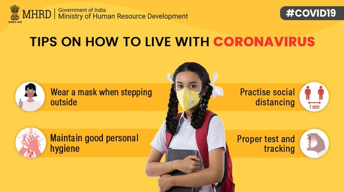 Tips on How to Live with Coronavirus