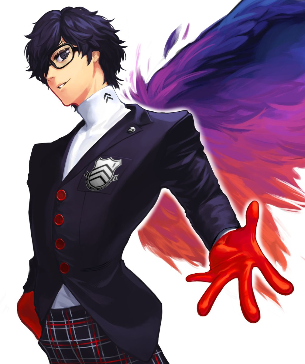 Finished Persona 5 Royal and had to draw this handsome boi. I'm def crushing over him dont blame me #Persona5Royal #Joker pic.twitter.com/fTYTBOInlf