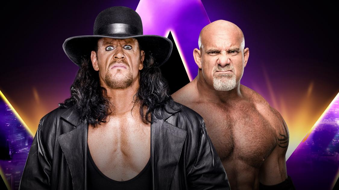 One year ago today we had a great match between the Undertaker and Goldberg. https://t.co/V79vl9uRmc