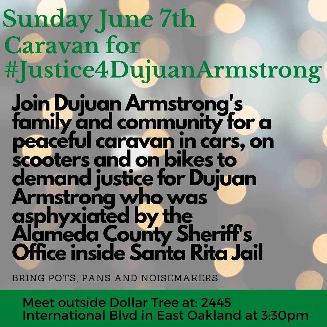 Caravan for Justice for Dujuan Armstrong @ Dollar Tree - Staging Point