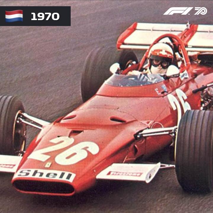 🇳🇱 HOLANDA 1970 Foi a primeira corrida do suíço, Clay Regazzoni na Fórmula 1.  #F1 #OnThisDay #DutchGP #Netherlands #ClayRegazzoni #Ferrari https://t.co/1ROATMb3TE