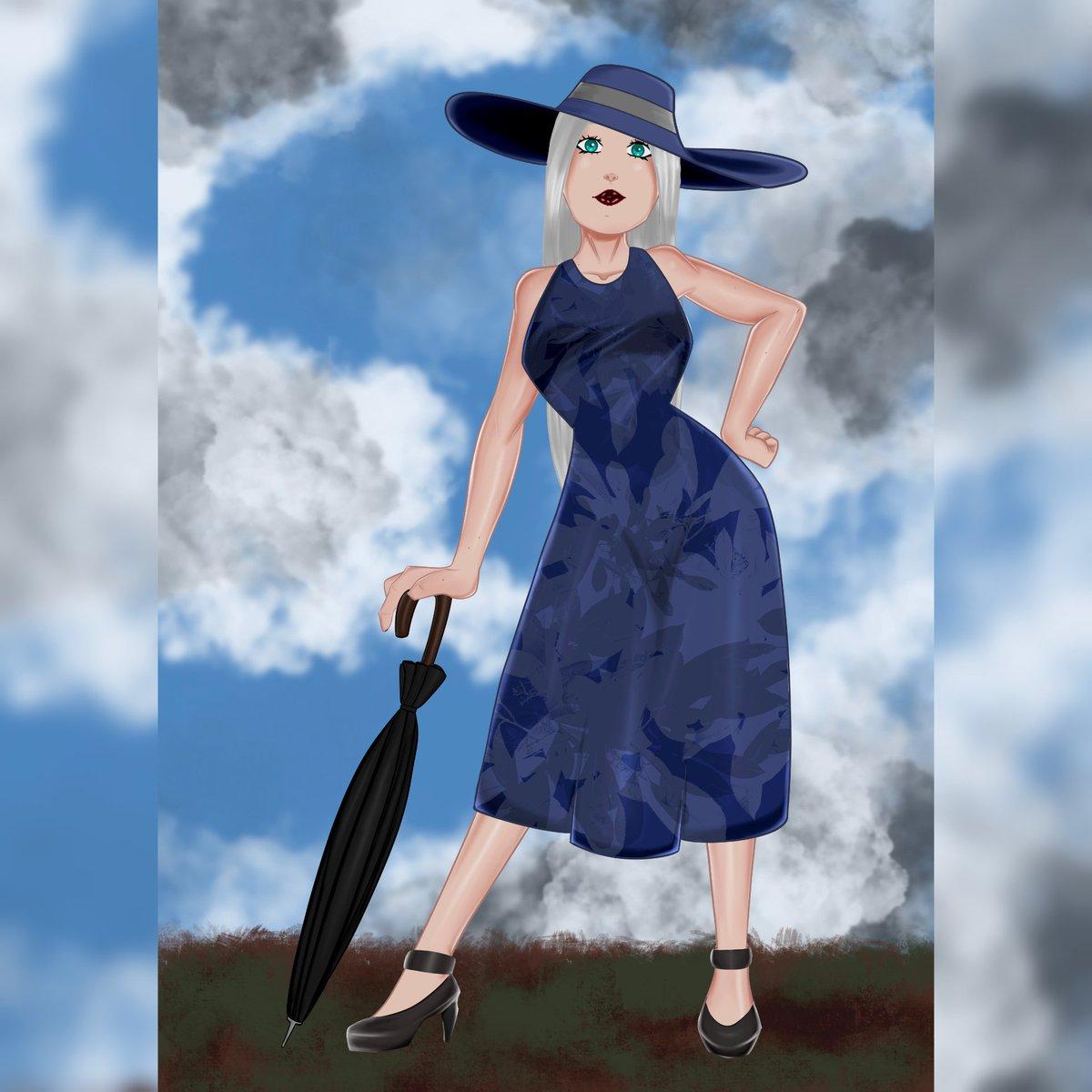 #draw #dibujo #art #ipadart #procreate #process #digitalart #artoninstagram #artistoninstagram #illustration #digitalpainting #ipadproart #boudoir #pinup #sexy #girl #beautiful #hat #dress #bodysuit #tattoo #tattoogirl #umbrellapic.twitter.com/2wQUyjM6qP
