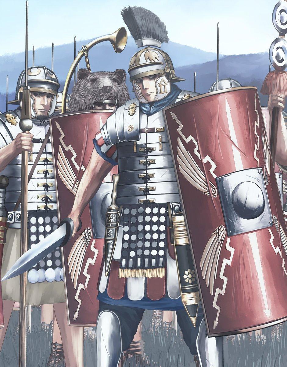 """ジェントリ吉田 on Twitter: """"ローマ帝国軍 百人隊長ケントゥリオ ..."""