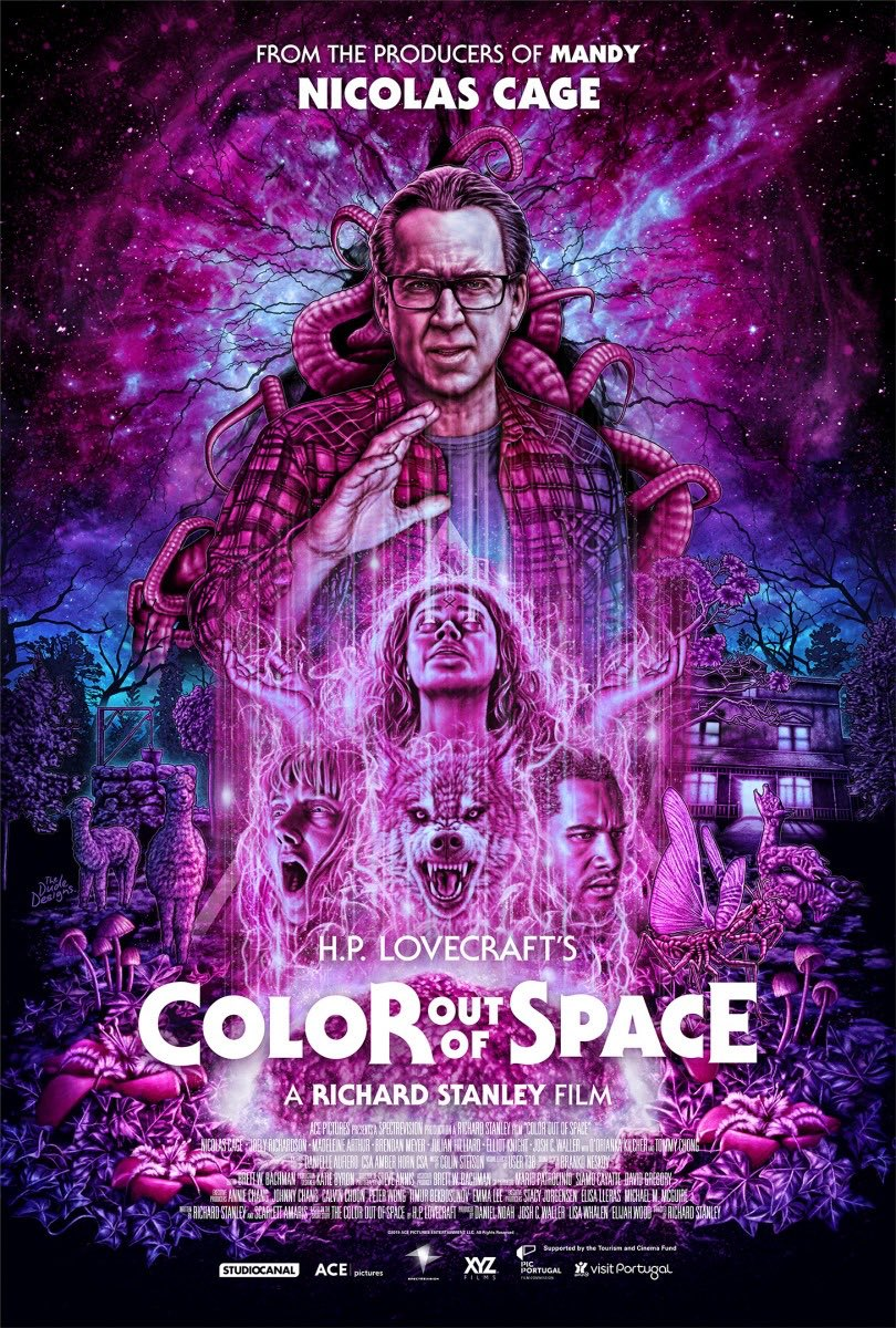 I'd like to recommend the film Color out of Space, to those of you who are looking for creative storytelling and fresh take on an old classic. @ColorSpaceMovie #hplovecraft #coloroutofspace #acoloroutofspace #cosmichorror #horror #scifi https://t.co/tlwf9TjMJu