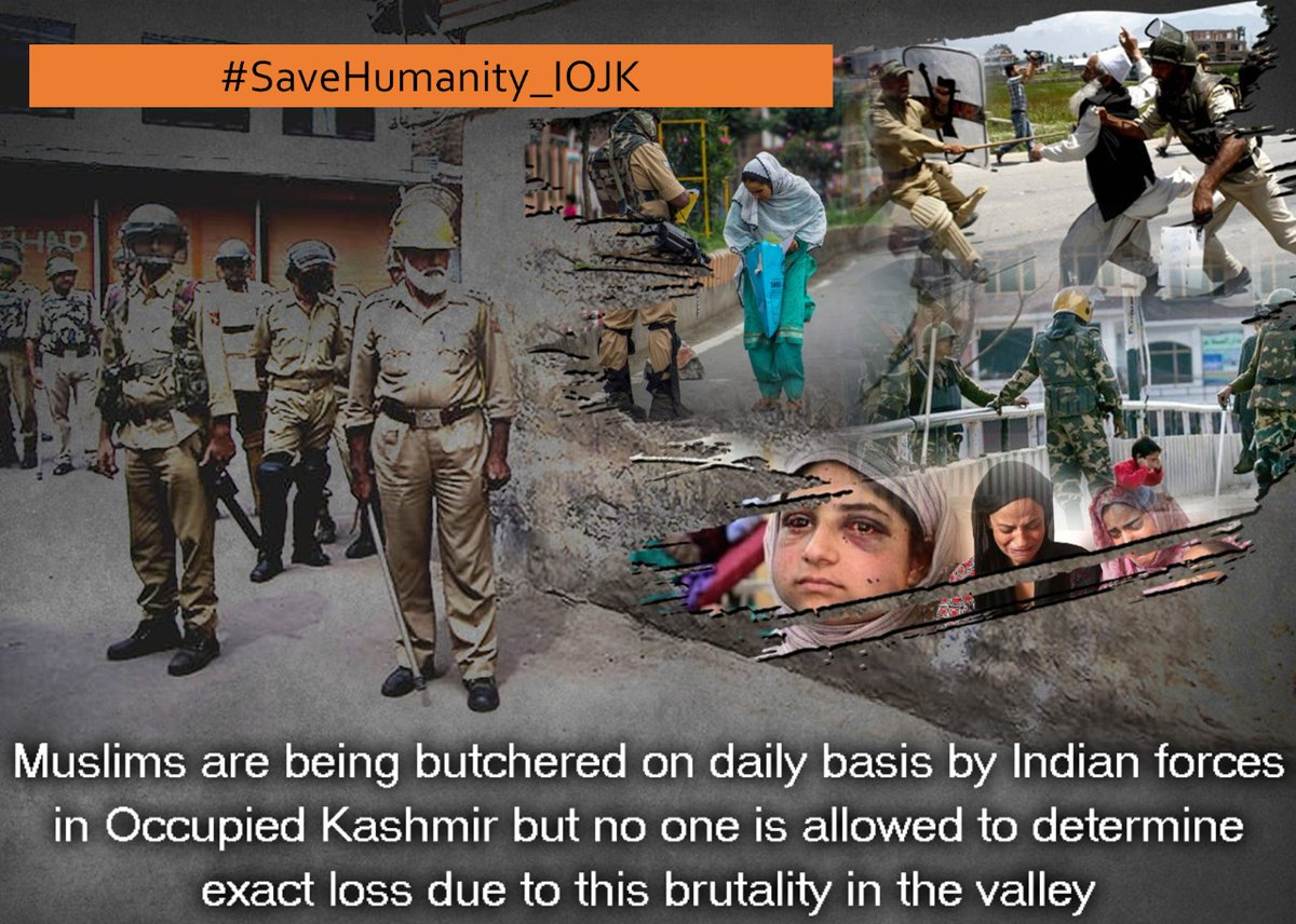 Dear Pakistanis, Lets Join HT...  #SaveHumanity_IOJK  Hundreds of Days have Passed Since the Siege & Lockdown in Aug 2019, in IOJ&K, where People have been Deprived of their Basic Human Rights & Subjected to worst Inhuman Conditions.   @Team4Pakistanpic.twitter.com/BeoEHmFEDc