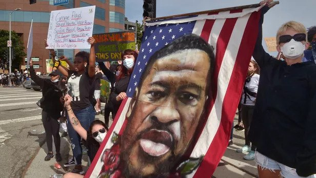 Масові протести та погроми у США (фото)