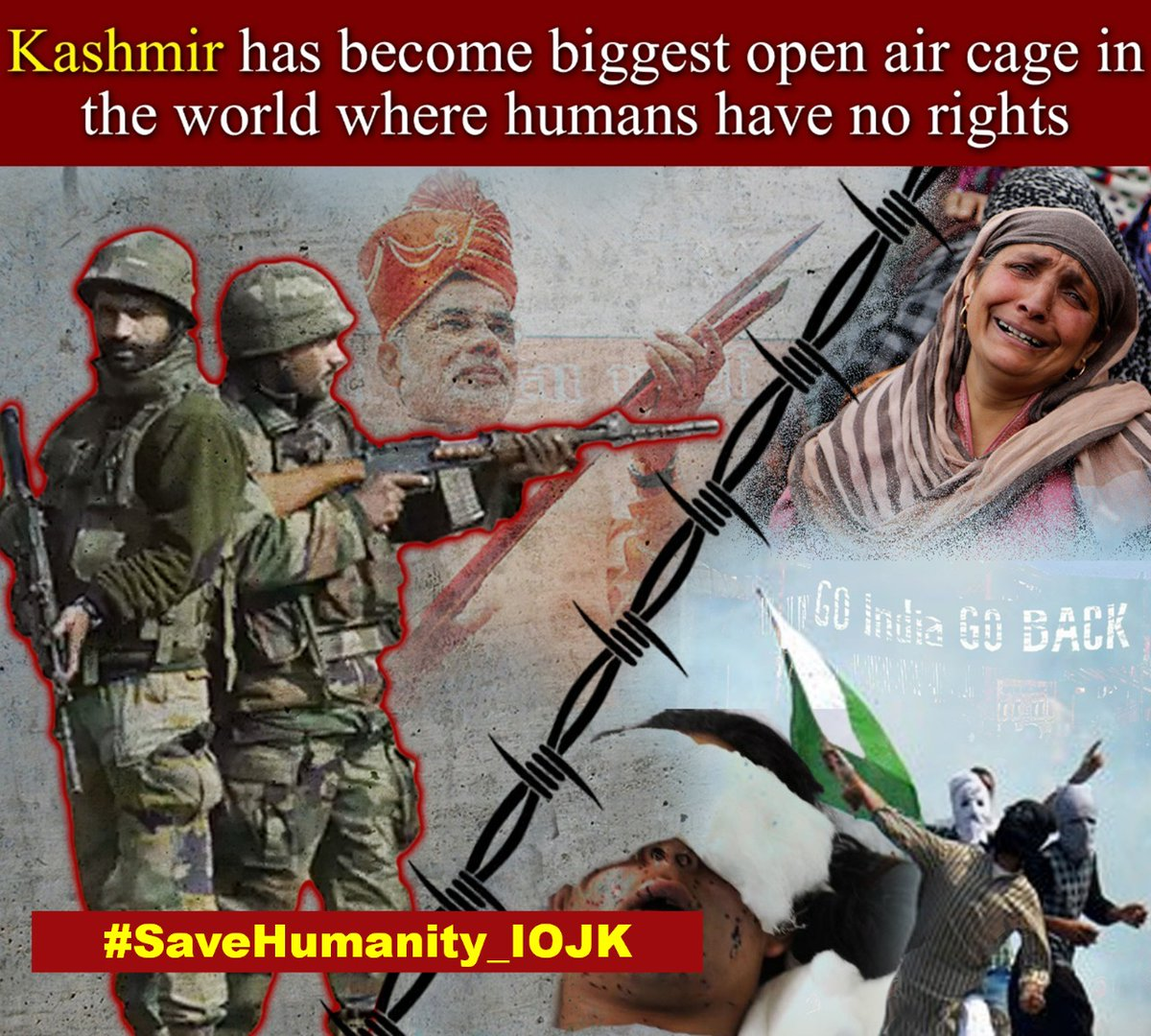 #SaveHumanity_IOJK Prime Minister Narendra Modi and the Hindu nationalist Bharatiya Janata Party had long opposed Article 370 and revoking it was in the party's 2019 election manifesto. @TeamISPOfficialpic.twitter.com/BFBD0itDyX