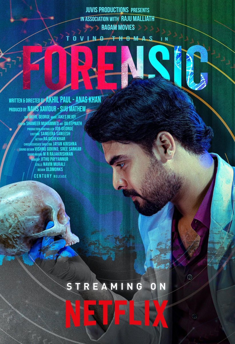 #Forensic streaming now on #Netflix!