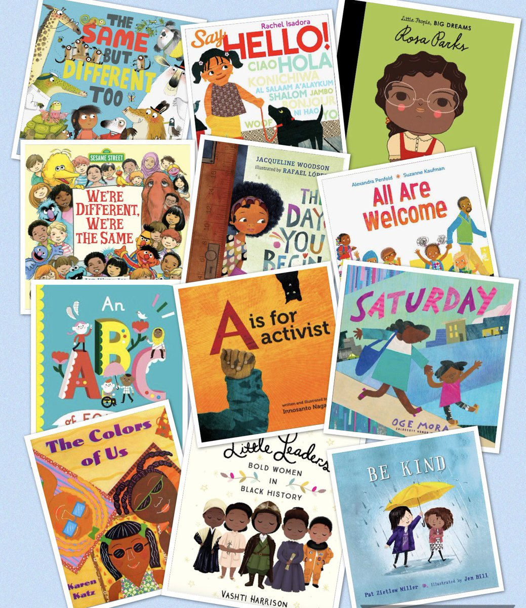 We've compiled a list of some of our favorite children's books that encourage conversations about race, understanding, and inclusion. We have found these books to be helpful when having these important conversations with kids